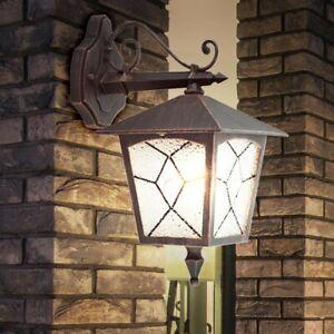 2er Set RGB LED 7 Watt Haus Tür Leuchte Fassaden Außen Lampe Big Light