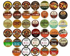 80 K Cups Flavored Coffee Only Variety Pack- 40 Different K Cup Flavors / Brands