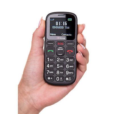 TTfone Comet Big Button Senior Emergency Mobile Phone Vodafone Pay As You Go