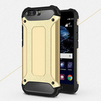 Rugged Armor Shockproof Bumper Case Cover For Huawei P8 P9 Lite 2017 P10 Luxury