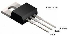 4-x-RFP12N10L-5V-Logic-Level-MOSFET-100V-12A-PIC-Raspberry-PI-Auduino-PWM-Motor