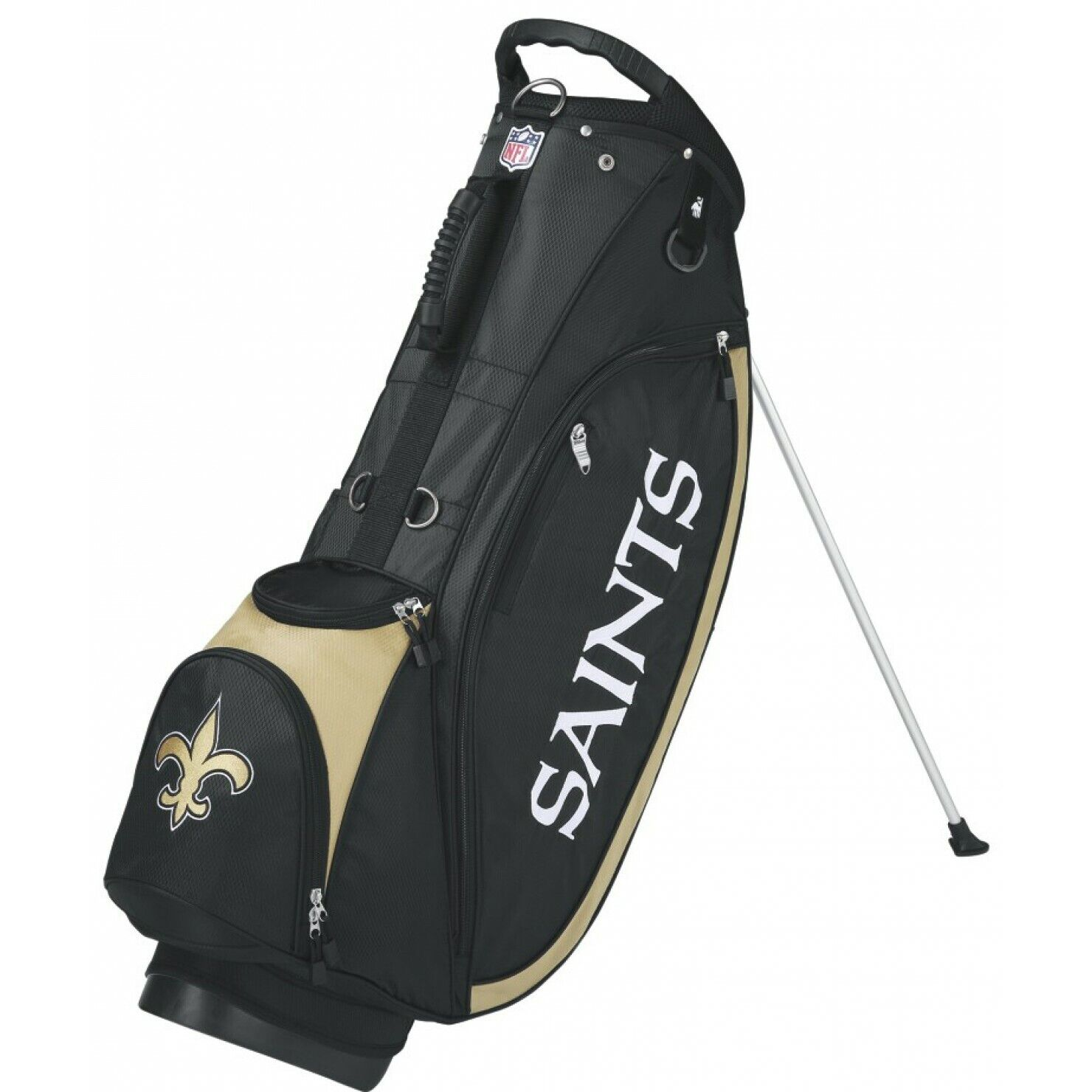 52191001 NEW Wilson Staff NFL Golf Stand Bag w/ 5 Way Top - Choose Your Favorite  Team!!