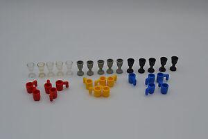 LEGO 30 x Becher 3899 Tasse Tassen Glas Gläser Kelch 2343 Ritter City gemischt
