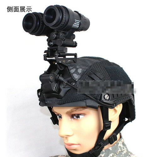 Tactical Airsoft PVS15 NVG Model & Aluminum Helmet AN PVS-15 NVG Stand Mount