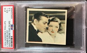 1934-Godfrey-Phillips-Shots-From-the-Films-18-Clark-Gable-Myrna-Loy-PSA-5-5-EX