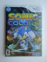 Sonic: Colors (nintendo Wii, 2010) Brand (ntsc/us/ca)