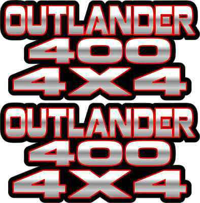Big Bear 400 4x4 Red Gas Tank Graphics Decal Sticker Atv Quad 4wd 500 stickers
