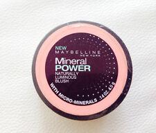 Maybelline Mineral Power Blush naturally luminous blush true peach /14oz