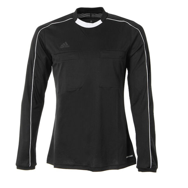 683c32c97ab adidas Male Jersey Referee 16 Ah9803 NEU   OVP Long Sleeve Round ...