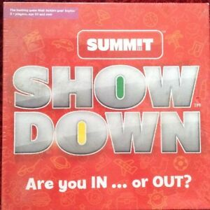 SHOW-DOWN-GAME-NEW-SEALED-BOX-QUICK-FIRED-TEXTING-GAME