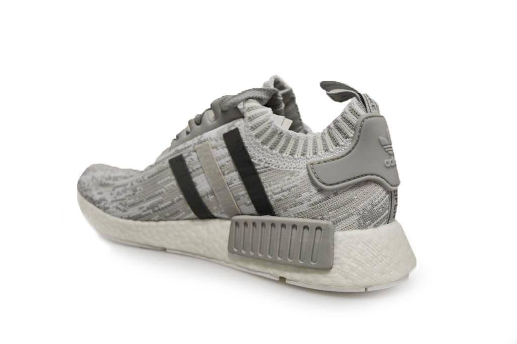 Womens Adidas NMD_R1 Primknit Grey - BY9865 - Grey Primknit Trainers 46b761