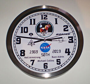 Apollo-11-First-Moon-Landing-50th-Anniversary-Clock-Armstrong-Aldrin-Collins