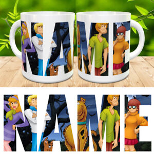 Scooby-Doo-Gang-Personalised-Name-Mug-Cup-Gift-Birthday-Present-Xmas-New