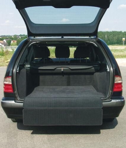 Für Opel Insignia Sports Tourer Kofferraumteppich ausklappbar Velours schwarz