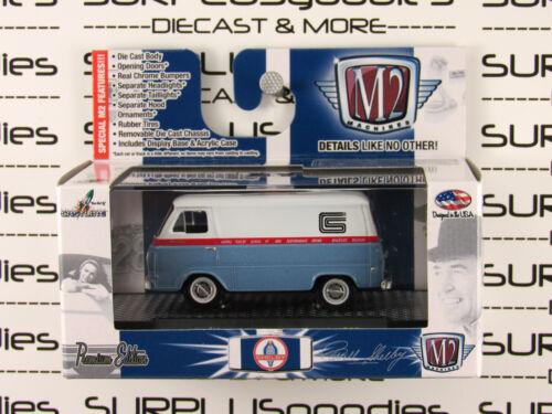 Machines M2 échelle 1:64 Detroit Muscle R29 1965 FORD SHELBY COBRA Econoline van