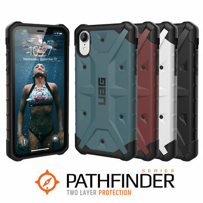 finest selection 1474b f3123 Urban Armor Gear UAG iPhone XR Pathfinder Military Spec Tough Rugged Case  Cover   eBay
