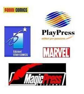 LOTTO-100-ALBI-SUPEREROI-ITALIANI-Marvel-Italia-Star-Comics-Play-Press-ecc