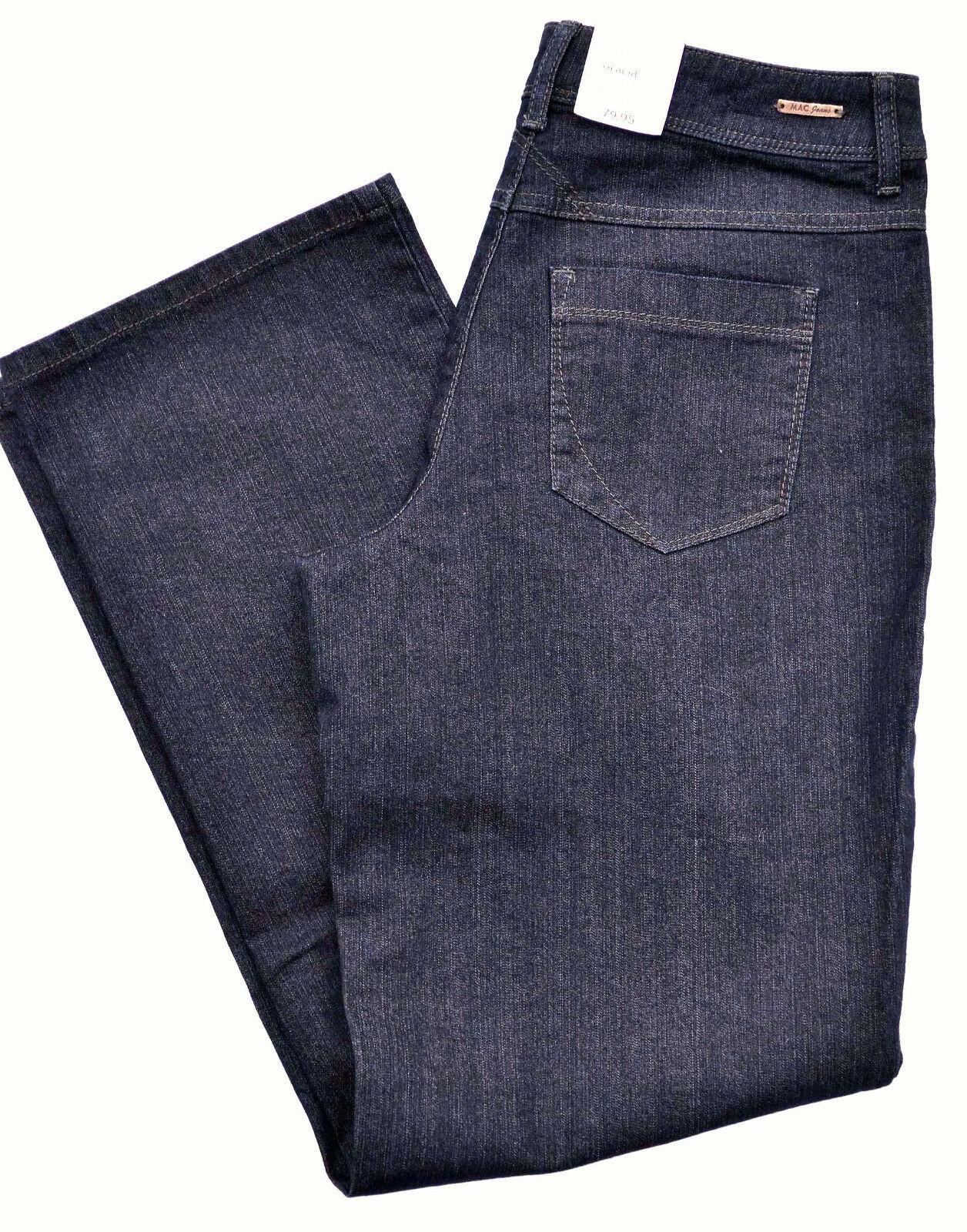 Mac Jeans GRACIA Blau denim stretch foncé Blau Comfort Loose Fit Neuf