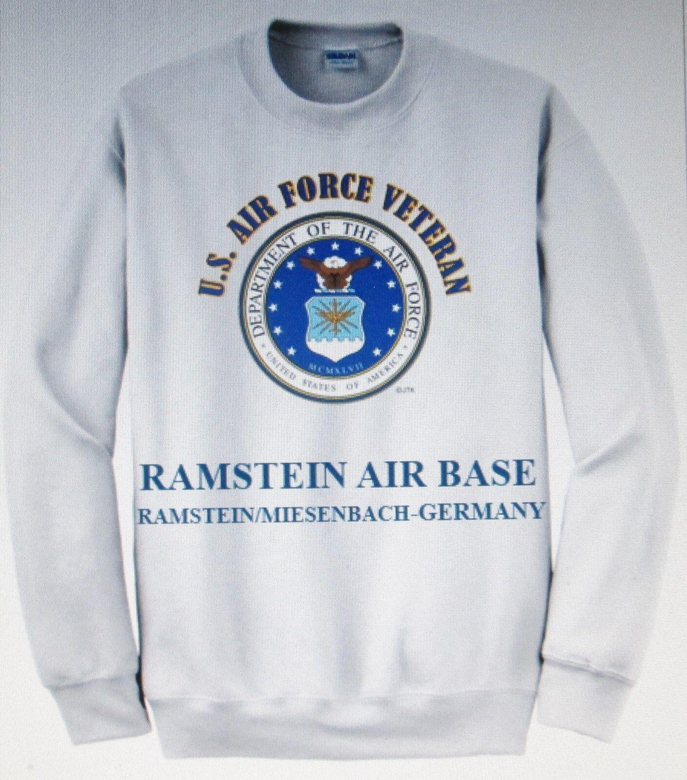 RAMSTEIN AIR BASERAMSTEIN MIESENBACH-GERMANYU.S. AIR FORCE EMBLEM SWEATSHIRT