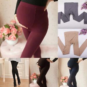 Détails sur Les femmes enceintes hiver épaissir Collants de maternité Chaud Footed Collant afficher le titre d'origine