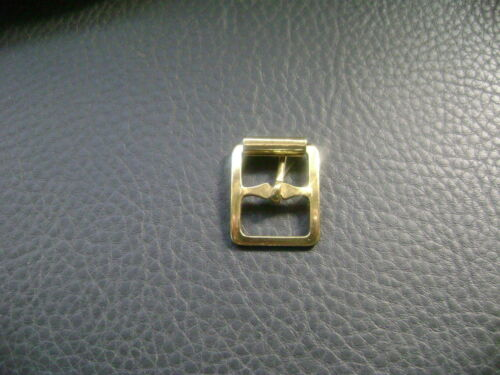 16MM 5//8TH GOLD-SILVER MILITARY CENTRE BAR BUCKLE