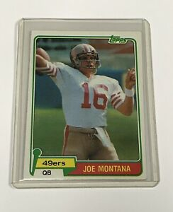 1981-Joe-Montana-Rookie-Topps-Card-216-The-Goat-QB-Used-Inflated-Footballs
