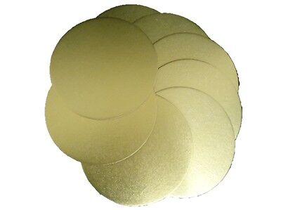 Onesto 2 X 180mm Professionale Torta Rotonda Cerchio D'oro Bordo Base 1.7mm Spessore #2c1-mostra Il Titolo Originale Per Prevenire E Curare Le Malattie