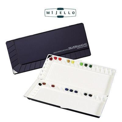 Marti MIJELLO watercolor sealable bullet-proof glass palette for Professionals