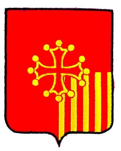 Patch ecusson brodé LANGUEDOC ROUSSILLON  Blason armoirie drapeau region