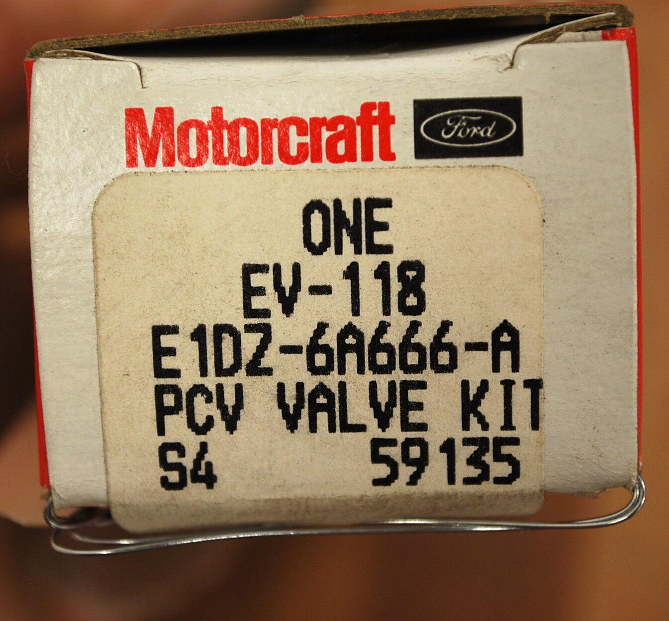 Motorcraft EV118 Valve