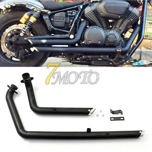 Shortshots Staggered Exhaust Pipe For Yamaha Star Bolt XV950 XVS950 2010-2018