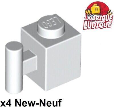 4x Brick Brick Modified 1x1 Handle Handle Orange 2921 New Lego