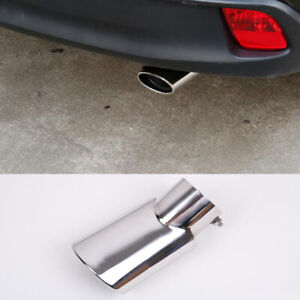 Stainless Rear Exhaust Muffler Tail Pipe End Tip for Toyota Highlander 2014-2017
