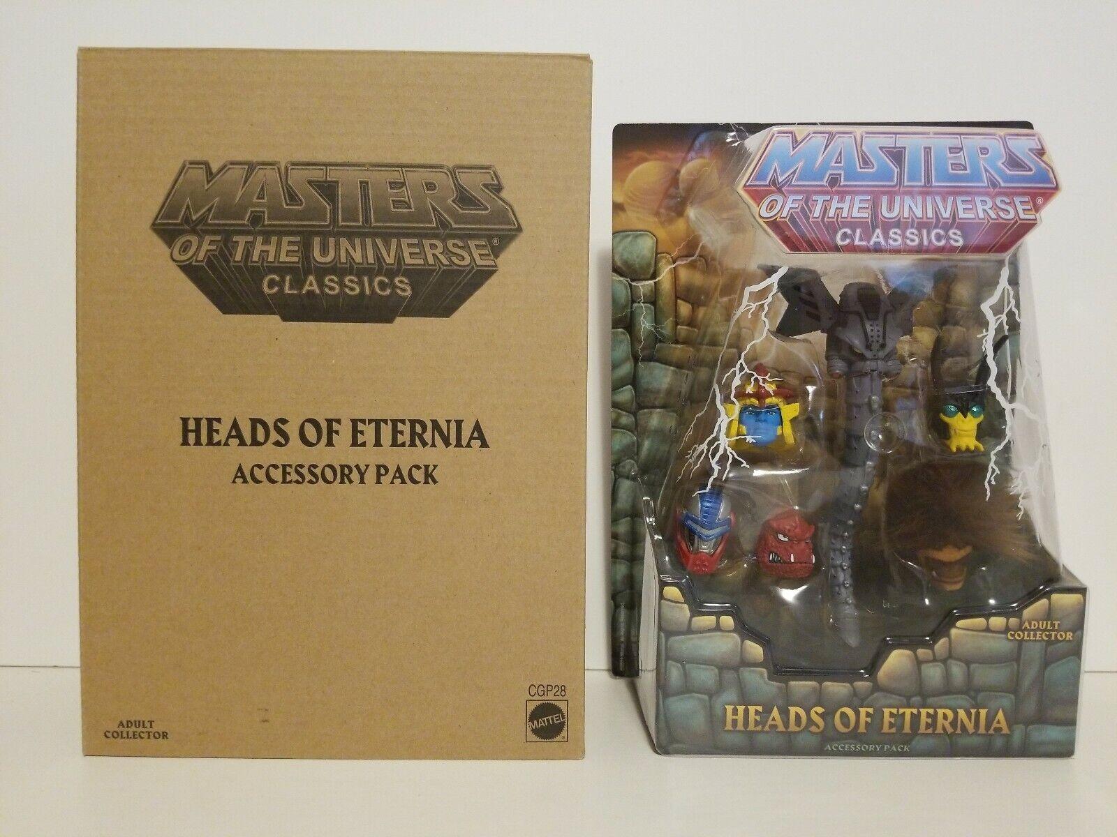 Motu Classics 200x Heads Of Eternia - Masters of The Universe Matty Motuc
