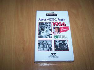 VHS - NEU - SAT 1 Report 1956 - Jahres Video Report 1956 - Ludwigshafen, Deutschland - VHS - NEU - SAT 1 Report 1956 - Jahres Video Report 1956 - Ludwigshafen, Deutschland