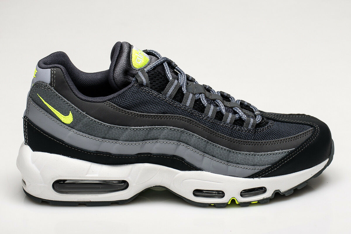 Nike Air Max 95 Essential DARK GREY VOLT 749766-019 SIZE US 9      The latest discount shoes for men and women