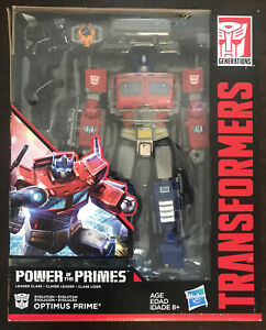 Transformers Power of the Primes: Optimus Prime Leader Class Hasbro NEW