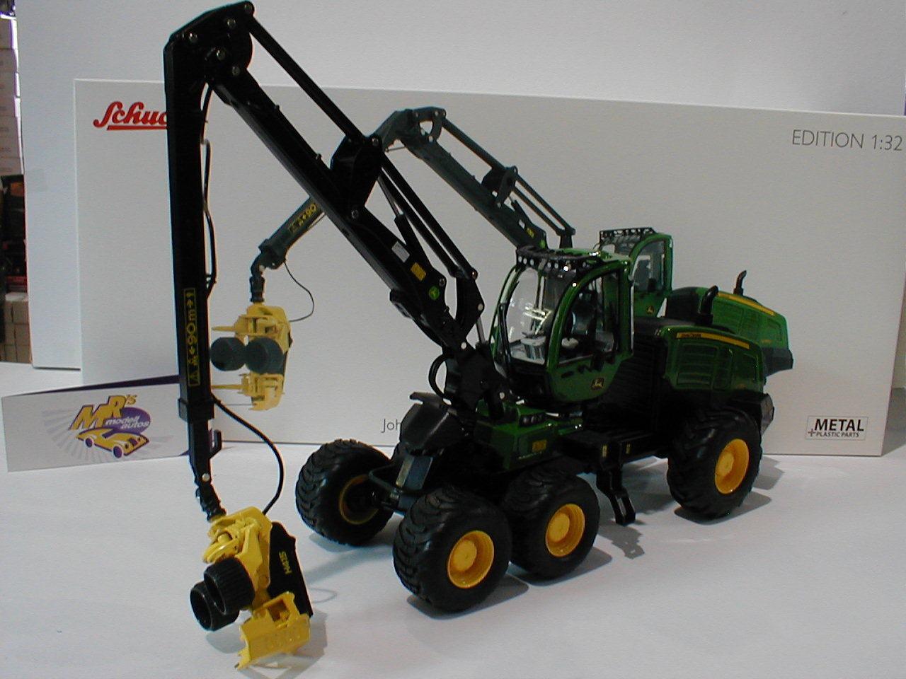 Schuco 07759 - Traktor John Deere 1270G 6W Harvester in   grün   1 32 NEUHEIT