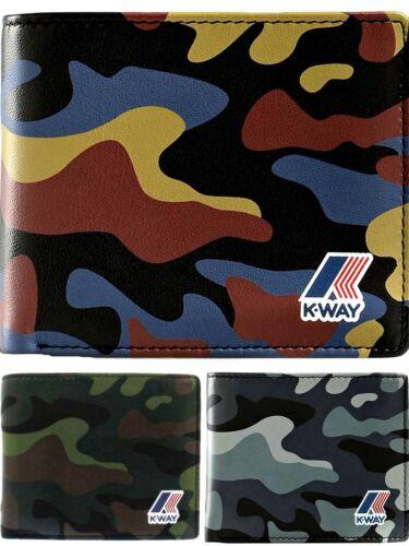 Portafoglio Uomo K-Way K-Camu Wallet Men K9403