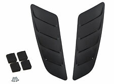 2015-2017 Ford Mustang GT 5.0 Roush Hood Vent Heat Extractors Black Pair 421869