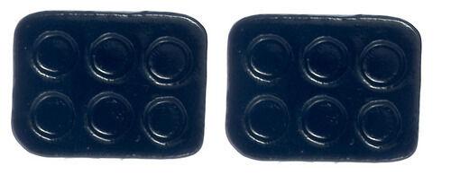 Black Muffin plaques de cuisson, accessoire cuisine maison poupée, miniature, 1,12 th scale