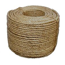 Yellow T.W Evans Cordage 80-026 3//8-Inch by 300-Feet Buffalo Twisted Polypro Rope