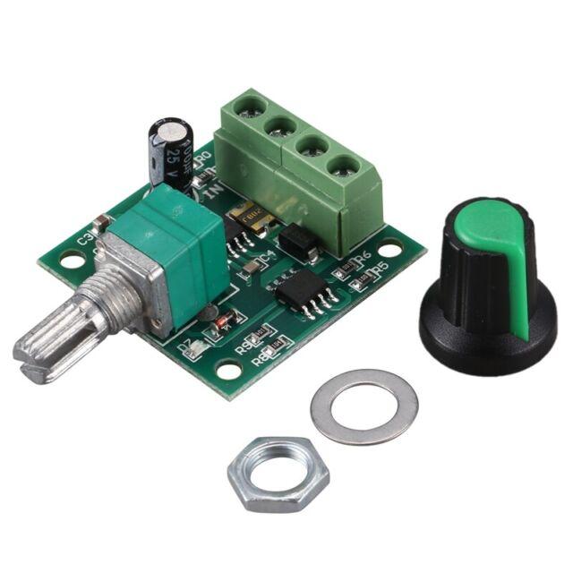 Low Voltage DC PWM Motor Speed Controller Module 1.8V 3V-5V-6V 12V 2A D5D4