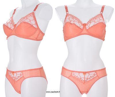 CARMEN ensemble de lingerie soutien-gorge et culotte coloris noir 105D//XL