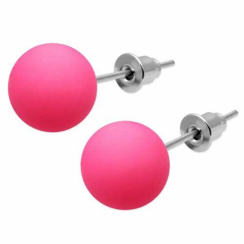1 Paire néon UV boucles d/'oreille Boucles d/'oreilles Rose Noir Bleu Vert Orange Jaune Violet Rouge