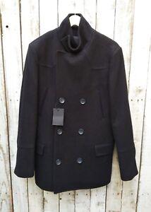 Wool Asos Taille M Mix In Coat Black dHqBqvw