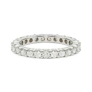 0-75-ct-F-SI1-ROUND-CUT-DIAMOND-ETERNITY-WEDDING-BAND