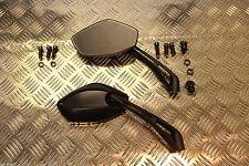 E MARKED Sports Mirror Pair Suzuki GS400, 450, 500, 550,650, 750 V2