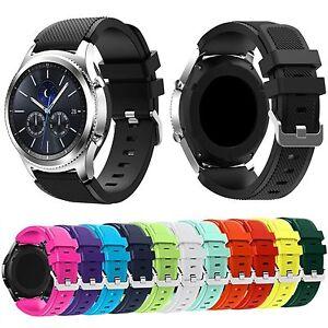 22mm Silicon Bracelet montres sangles bande Pour Samsung Galaxy Gear S3 Frontier