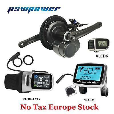EU Duty Free TSDZ2 pswpower 36V350W Central Mid Drive Motor Conversion Ebike Kit
